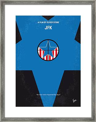 No111 My Jfk Movie Poster Framed Print by Chungkong Art