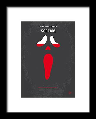 Scream Framed Prints