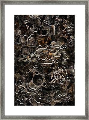 No.16 Framed Print by Andy Walsh