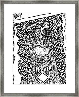I Am A Winner 16 Framed Print by Tetka Rhu