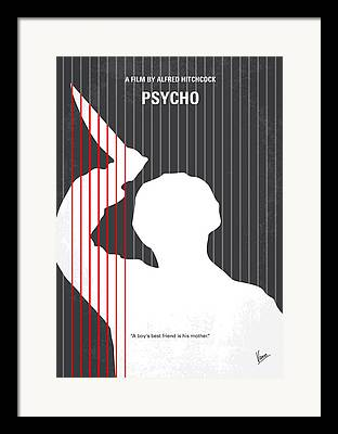 Psycho Framed Prints