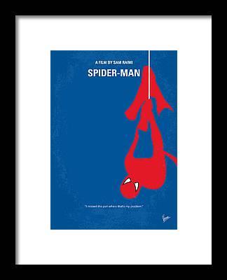 Spider Framed Prints