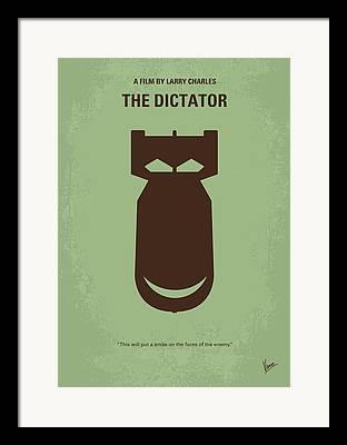 Democracy Digital Art Framed Prints