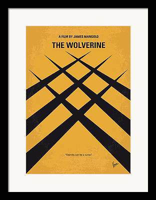 Wolverine Framed Prints