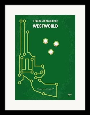 Wild West Digital Art Framed Prints
