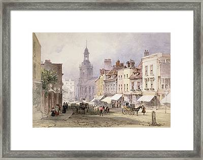 No.2351 Chester, C.1853 Framed Print by William Callow