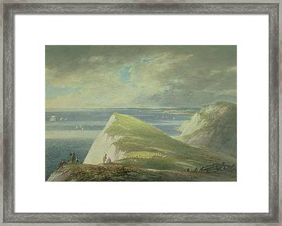 No.2372 Shakespeares Cliff, Dover Framed Print by William Payne
