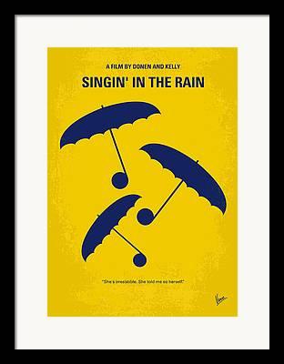 New York City Rain Framed Prints