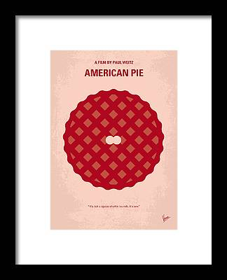 Pie Framed Prints