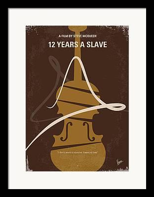 Slavery Digital Art Framed Prints