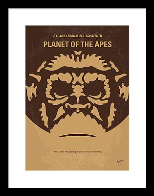 Planet Of The Apes Framed Prints