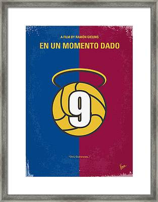 No272 My En Un Momento Dado Minimal Movie Poster Framed Print