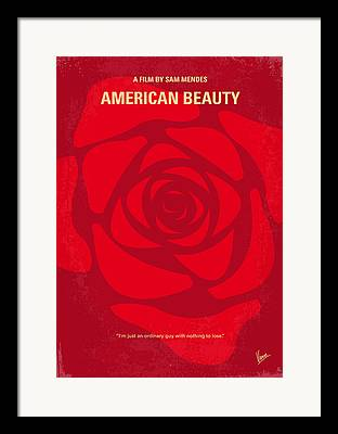 American Beauty Framed Prints