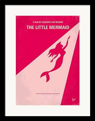 Mermaid Artwork Framed Prints