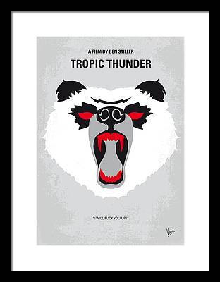 Tropic Digital Art Framed Prints