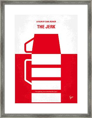 No350 My The Jerk Minimal Movie Poster Framed Print by Chungkong Art