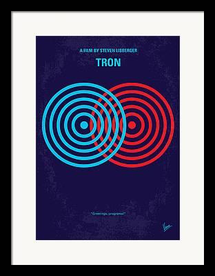 Tron Framed Prints
