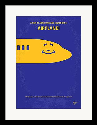 Airplane Artwork Framed Prints