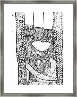I Am A Winner 4 Framed Print by Tetka Rhu