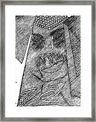 I Am A Winner 8 Framed Print by Tetka Rhu