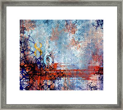 No.86 Framed Print