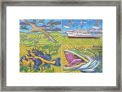 Noaa Mural Framed Print by Unknown