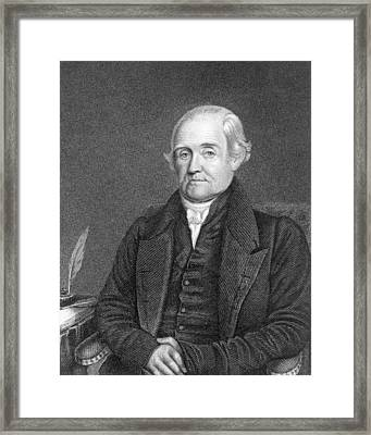 Noah Webster 1758-1843  Framed Print