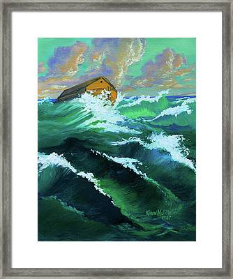 Noah's Ark Framed Print by Karon Melillo DeVega