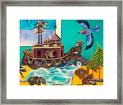 Noah's Ark Second Voyage Framed Print