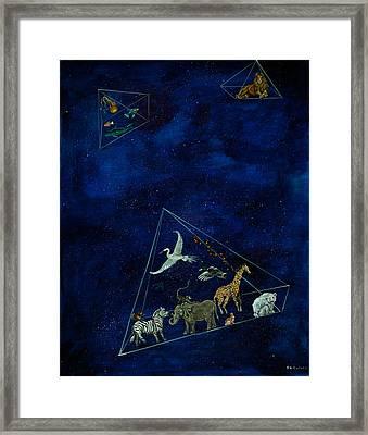 Noah's Last Voyage Framed Print
