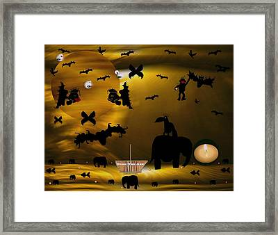 Noak The Ark Framed Print