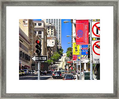 Nob Hill - San Francisco Framed Print