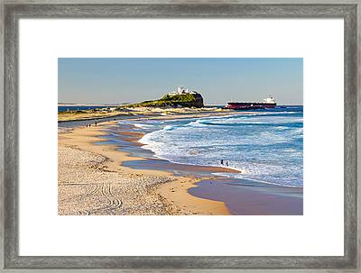 Nobby's Head 1 Framed Print