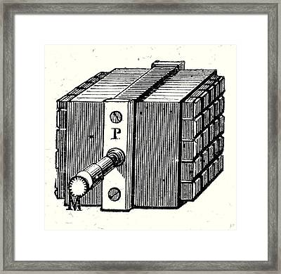 Nobilis Thermopile Framed Print by English School