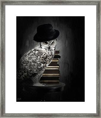 Noble One Framed Print by Lourry Legarde