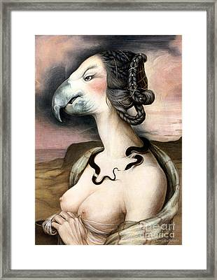 Noblesse Oblige Framed Print by Yvonne Wright