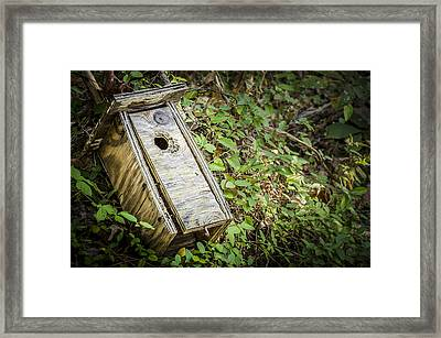 Nobody Is Home Framed Print by Bradley Clay