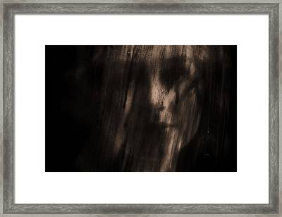 Nobody Knows Nobody Sees Framed Print