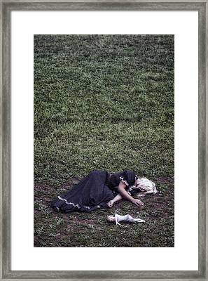 Nobody Wants To Play With Me Framed Print by Joana Kruse