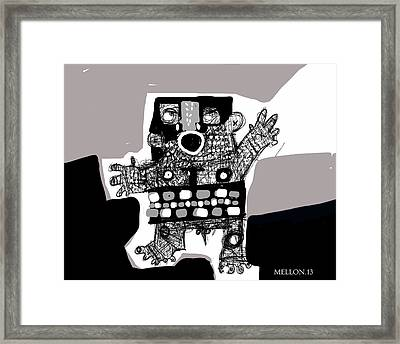 Noctis No. 5 Framed Print by Mark M  Mellon