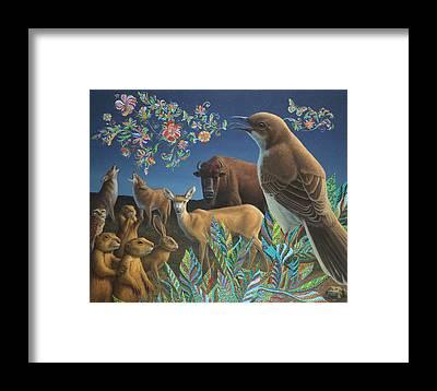 Mockingbird Framed Prints