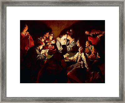 Nocturnal Concert Framed Print