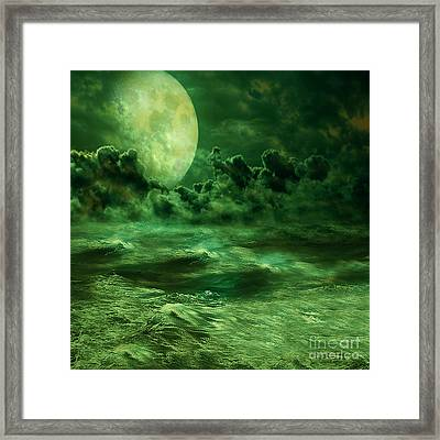 Nocturnal Framed Print by Ester  Rogers