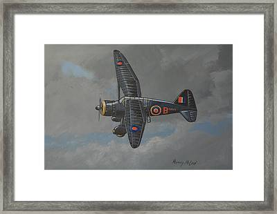 Nocturnal Lysander Framed Print by Murray McLeod