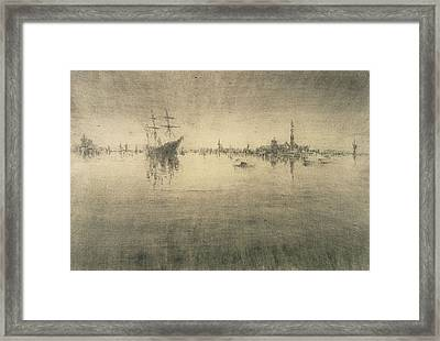 Nocturne Framed Print by James Abbott McNeill Whistler