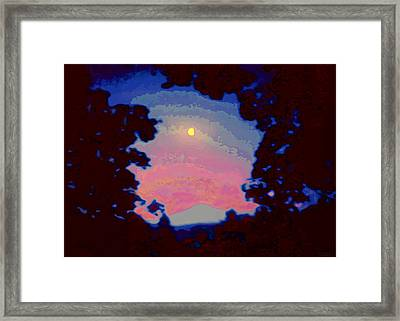 Nocturne 7 Framed Print by David Wiles