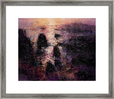 Nocturne Framed Print by R W Goetting
