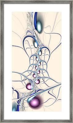 Nodes Framed Print by Anastasiya Malakhova