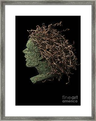 Noein Framed Print by Adam Long