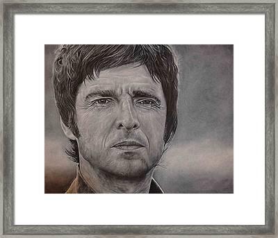 Noel Gallagher Framed Print